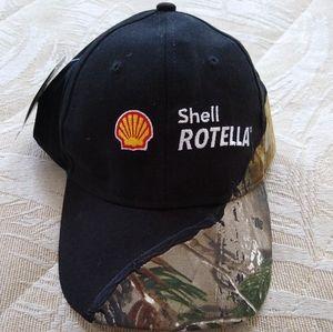 Shell Rotella Realtree Camo Hat Barbed Wire New